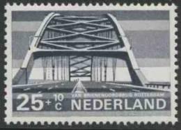 """Nederland Netherlands Pays Bas 1968 Mi 897 YT 869 ** """"Van Brienenoord"""", Rotterdam – Dutch Bridge / Brücke / Pont / Brug - Bruggen"""