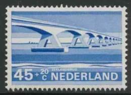 """Nederland Netherlands Pays Bas 1968 Mi 898 YT 870 ** """"Zeelandbrug"""" Oosterschelde – Dutch Bridge / Brücke / Pont / Brug - Bruggen"""