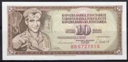 Yugoslavia 1981 Banknote Of 10 Dinars - Jugoslawien