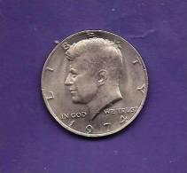 U.S.A. 1974, Circulated Coin, 1/2 Dollar , Copper Nickel, Kennedy C90129 - Federal Issues