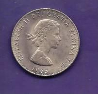 GREAT BRITTAIN 1965,  Circulated Coin, 15 Shilling , Winston Churchill,   Km910  C90.137 - 1902-1971 : Post-Victorian Coins
