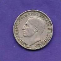 YUGOSLAVIA 1925,   Circulated Coin, 1 Dinar, Nickel-bronze, KM5, C90.144 - Joegoslavië