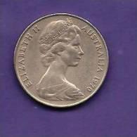 AUSTRALIA 1970,   Circulated Coin VF, 20 Cents Copper-nickel, KM66, C90.151 - Australia