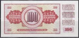Yugoslavia 1986 Banknote Of 100 Dinars - Jugoslawien