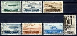 Regno 1934 SS 1514 Medaglie D'0ro Posta Aerea N. A74-A80  Usati Cat. € 230 - 1900-44 Victor Emmanuel III.