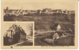 Rotenberg Rothenberg Germany, Pension Hohne, Stadt U. Tal, C1920s Vintage Postcard - Rotenburg