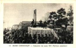 Histoire De La Révolution Française - Exécution De Louis XVI - Storia
