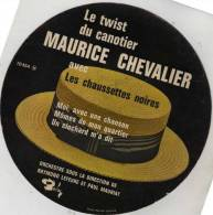Pochette Ronde ? - Les Chaussettes Noires - Maurice Chevalier - Barclay - Twist - Phot. Herman Leonard - Vinyl-Schallplatten