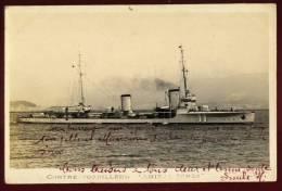 Cpa Carte Photo  Contre Torpilleur  Amiral  Senès   2LIO14 - Guerre