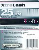 Prepaidcard Deutschland - XtraCash - T D1 - 25 DM - 12/01