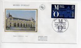 Ref T : Enveloppe Premier 1er Jour FDC First Day Cover :  Musée D'Orsay - Non Classificati