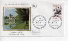 Ref TW : Enveloppe Premier 1er Jour FDC First Day Cover : La Chapelle D'Angillon Le Grand Maulnes - Non Classificati