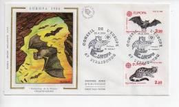 Ref TW : Enveloppe Premier 1er Jour FDC First Day Cover :  Europa 86 Strasbourg - Non Classificati