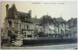 CABOURG Jardins Du Casino - LE LOGIS - Phototypie Desaix - CPA Non écrite Correcte - Cabourg