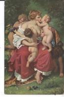 ANGES - Caritas - Wilhelm Von Kaulbach - Anges