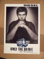 Diesel Only The Brave Parfum Carte Postale - Perfume Cards