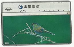 China Phonecard Used  Picture Bird - Chine
