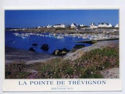 """TREGUNC--2003--La Pointe De Trévignon ,cpm  éd Jack---timbre """"la Crêpe"""" Au Verso--- - Trégunc"""