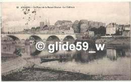 ANGERS - Le Pont De La Basse-Chaîne - Le Château - N° 38 - Angers