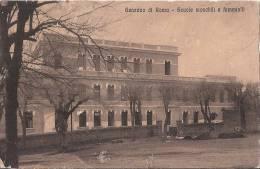 A001 - GENZANO DI ROMA - SCUOLE - A. '20-30 - N.VG. - Roma (Rome)