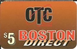 Prepaid: OTC Boston Direct - Vereinigte Staaten