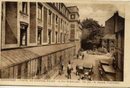 59 DUNKERQUE - L'Hôtel Du CHAPEAU ROUGE, 5 Rue Saint-Sébastien - Voitures Anciennes... - Dunkerque