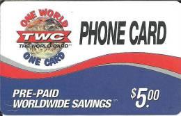 Prepaid: TWC One World - Vereinigte Staaten