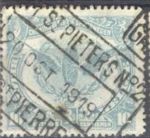 _Yb635: N° SP58: GENT-ST-PIETERS N°2 /1919 / GAND ST-PIERRE... - 1915-1921