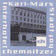 GERMANY KARL MARX STADT HOTEL CHEMNITZER HOF VINTAGE LUGGAGE LAB