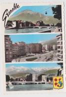 GRENOBLE - N° 967 - TELEFERIQUE ET MOUCHEROTTE - NOUVEAUX BOULEVARDS - CARTE NON VOYAGEE - Grenoble