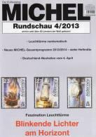 MICHEL Briefmarken Rundschau 4/2013 New 5€ New Stamps Coins Report World Catalogue Magacine Germany ISBN 4 194371 105009 - Ohne Zuordnung