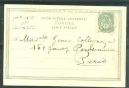 Port Said Yvert N°24 SUR CPA  ( LE Canal De Suez ) Pour Paris En 1903 -  Ab5607 - Port-Saïd (1899-1931)