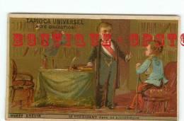 PRESIDENT Dans Sa BIBLIOTHEQUE Au Musée Grevin - Jeune Garcon Enfant - Little Boy - Tapioca Universel - Dos Scanné