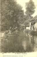 Meung Sur Loire. Les Muves, La Tentation Au Bord De La Rivière. - Other Municipalities