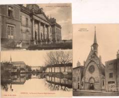 13 / 4 : 37  -  3  CP  DE LUNÉVILLE - Cartes Postales
