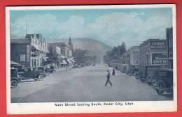 CPA: Etats-Unis - Main Street Looking South Cedar City (Utah) - Autres