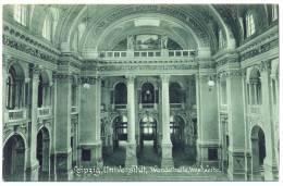 Leipzig, Universität, Wandelhalle, 1909 - Leipzig