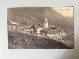 CART. BIONAZ PANORAMA (alt.1600) VIAGGIATA DEL 1916 OTTIMO STATO - Italien