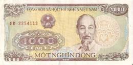 BILLETE DE VIETNAM DE 1000 DONG DEL AÑO 1988  (BANKNOTE) - Vietnam