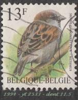 1994 - Europe - Belgique - 13 F. Moineau Domestique - - Sparrows