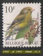 1992 - Europe - Belgique - 10 F. Verdier - - Passereaux