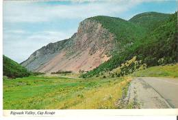 Rigwash Valley, Cap Rouge On The Cabot Trail, Within The Cape Breton Highlands National Park, Nova Scotia - Cape Breton