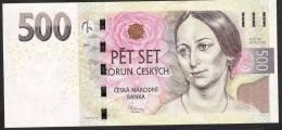 CZECH REPUBLIC  P24 500 KORUN 2009 SERIE E03      AU++/UNC. - República Checa