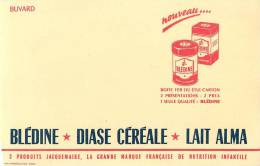 Buvard Réf.002. Blédine, Diase Céréale, Lait Alma - Dairy