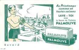 Buvard Réf.003. Lave-toi Avec Le Savon Palmolive - Perfume & Beauty