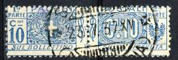 Regno VE3  Pacchi N. 8 Nodo Savoia Usato - Postal Parcels