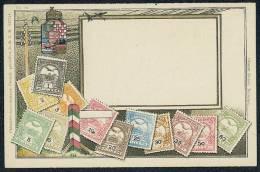 No. 16 - Ottmar Zieher,Munchen.Philatelie-Ansichtskarte,Gesetzl,geschutzt,D.R.G.M. 222744 - Timbres (représentations)