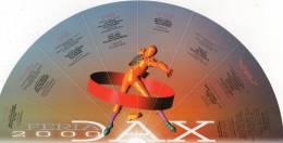 Corrida Dax 2000 Eventail Publicitaire Pastis 51 - Andere