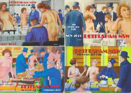 PYB: Postcard Fairs Sydney Petersham [ Nude Limited Edition 2013-IV-3] - Collector Fairs & Bourses