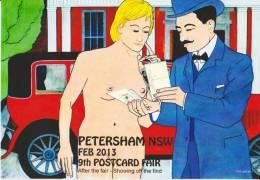 PYB: Postcard Fair Sydney Petersham Feb 2013 [ Nude Limited Edition 2013-IV-3] - Illustrators & Photographers